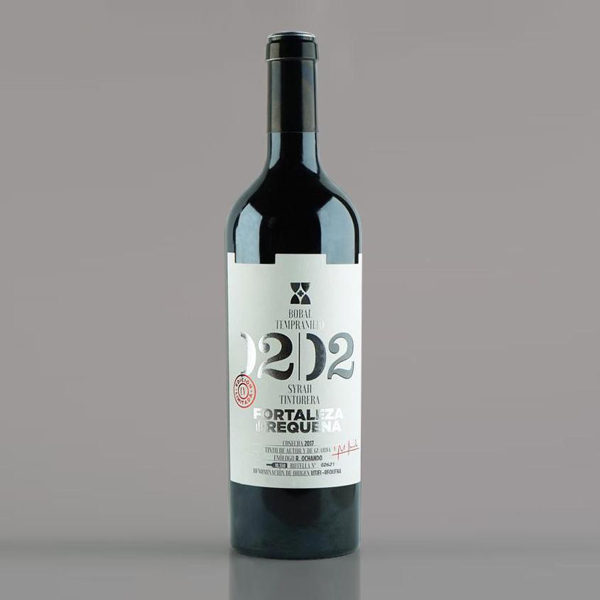 Diseño Etiquetas Vino Fortaleza Requena